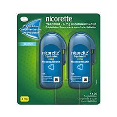 Nicorette Freshmint 4mg 80 Comprimés à Sucer