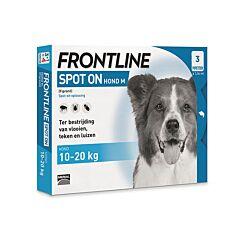 Frontline Spot-On Hond 10-20kg Vlooien/ Teken 3x1,34ml