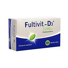 Fultivit-D3 3200IE 60 Zachte Capsules