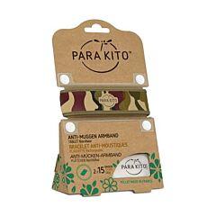 Parakito Bracelet Graffic Jungle Anti-Moustiques + 2 Recharges