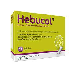 Hebucol Troubles Digestifs 30 Gélules NF