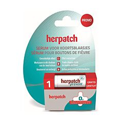 Herpatch Serum Koortsblaasjes 5ml + GRATIS Prevent Stick 4,8g