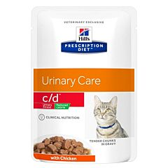Hills Prescription Diet Feline Cd Urinary Stress Reduced Calorie 12x85g