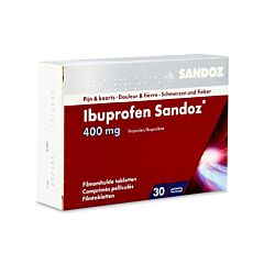 Ibuprofen Sandoz 400mg 30 Tabletten