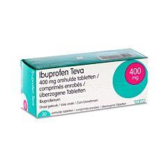 Ibuprofen Teva 400mg 30 Comprimés Enrobés
