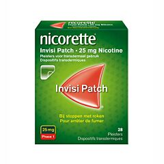 Nicorette Invisi Patch 25mg Nicotine 28 Patchs