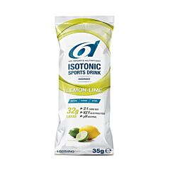 6D Sports Nutrition Isotonic Sports Drink Lemon-Lime Zakjes 14x35g