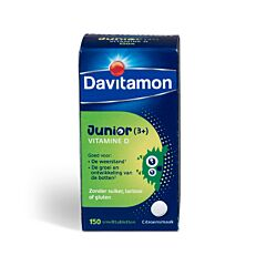 Davitamon Junior Vitamine D 150 Smelttabletten