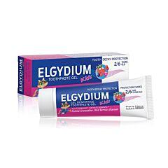 Elgydium Kids 2-6 ans Dentrifrice Grenadine Tube 50ml