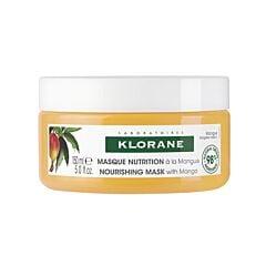 Klorane Masque Nutrition à la Mangue Cheveux Secs Pot 150ml NF