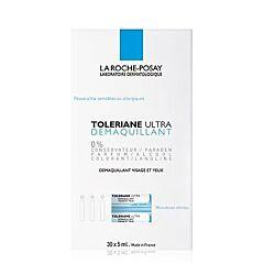 La Roche Posay Toleriane Ultra Reiniging Gelaat/ Ogen 30x5ml Ampullen