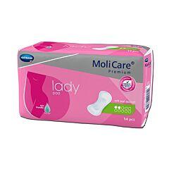 Molicare Premium Lady Pad 2 Druppels 14 Stuks
