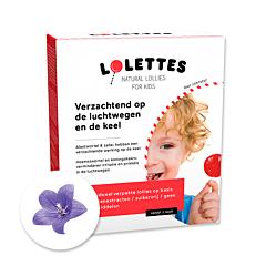 Lolettes Voies Respiratoires & Gorge 14 Sucettes