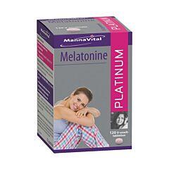 MannaVital Melatonine Platinum 120 Smelttabletten
