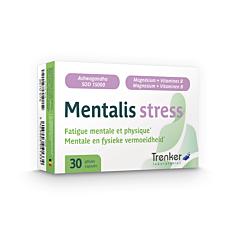 Mentalis Stress Fatigue Mentale et Physique 30 Gélules