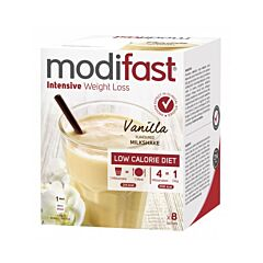 Modifast Intensive Milkshake Vanille 8 Sachets x 55g