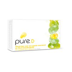 Pure D 800UI Vitamine D3 Résistance & Ossature Solide 90 Comprimés à Croquer