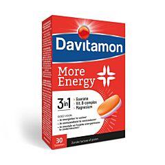 Davitamon More Energy 3-en-1 Energie Mentale & Physique 30 Comprimés