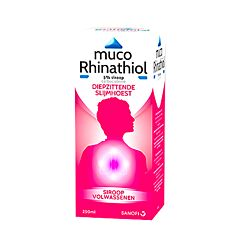 Muco Rhinathiol Toux Grasse Sirop Sucre Adultes Flacon 250ml