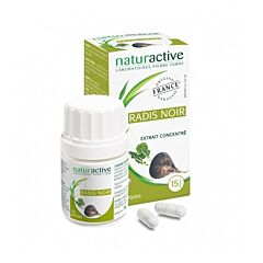Naturactive Radis Noir 60 Gélules