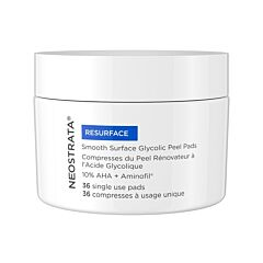 Neostrata Resurface Smooth Surface Daily Peel Pads 36 Compresses + Solution 60ml