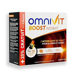 Omnivit Boost Instant Flacons 20 x 15ml