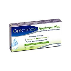 Opticalmax Hyaluron Plus Gouttes Oculaires 20 Doses x 0,5ml