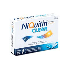 NiQuitin Clear 21mg 14 Pleisters
