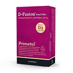 D-Fusion Pearl Folic Pronatal 84 Capsules