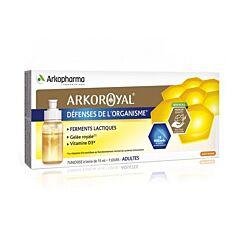 Arkoroyal Probiotica Volwassenen 7x15ml Unidoses