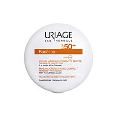 Uriage Bariésun Crème Minérale Compacte Teintée Teinte Claire IP50+ Poudre 10g