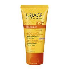 Uriage Bariésun Crème Teintée Très Haute Protection Teinte Claire IP50+ Tube 50ml