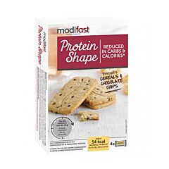 Modifast Protein Shape Biscuits Cereals & Chocolate Chips 16 Pièces