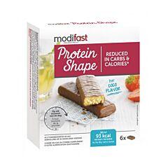 Modifast Protein Shape Barre Noix de Coco 6 Pièces
