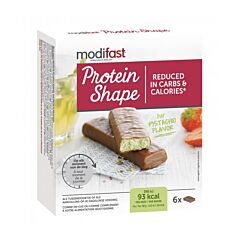 Modifast Protein Shape Reep Melkchocolade/ Pistache 6x27g