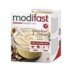 Modifast Intensive Pudding Yaourt aux Noisettes 8 Sachets x 52g