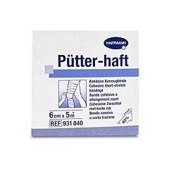 Hartmann Pütter-Haft Bande Cohésive à Allongement Court 6cmx5m 1 Pièce