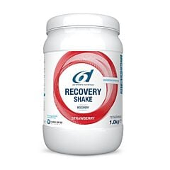 6D Sports Nutrition Recovery Shake Aardbei 1kg NF