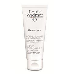 Louis Widmer Remederm Crème Corporelle Peau Très Sèche Sans Parfum Tube 75ml