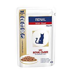 Royal Canin Renal Rundvlees Kattenvoer 85g