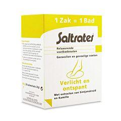Saltrates Sels de Bain Relaxants Pieds Gonflés & Sensibles 10 Sachets x 20g