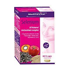 MannaVital Selenium All Natural Antioxidant Complex 60 V-Caps