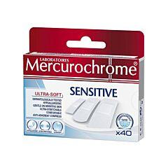 Mercurochrome Sensitive Pansement 40 Pièces