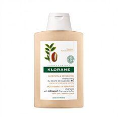 Klorane Shampooing au Beurre de Cupuaçu Bio Cheveux Très Secs & Abîmés Flacon 400ml