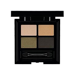 Les Couleurs De Noir Soft Touch Eye Shadow Quattro 04 Khaki Couture