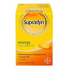 Supradyn Energy Coenzyme Q10 30 Comprimés