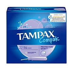 Tampax Compak Léger 22 Pièces