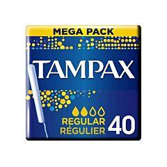 Tampax Regular 40 Tampons