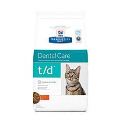 Hills Prescription Diet Dental Care T/D Kattenvoer Kip 5kg