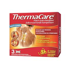 ThermaCare Zelfverwarmend Kompres Multizones 3 Stuks